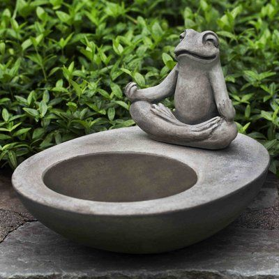 You'll love the Kosei Birdbath at Wayfair - Great Deals on all Outdoor products with Free Shipping on most stuff, even the big stuff.