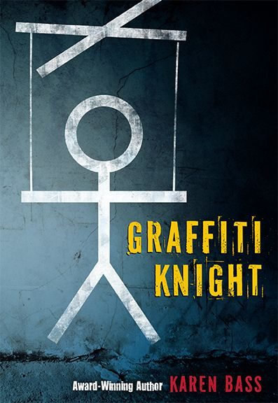 Discussion and Teacher's Guide for Graffiti Knight, a YA novel about a young man speaking out about social injustice in Post-World War II East Germany