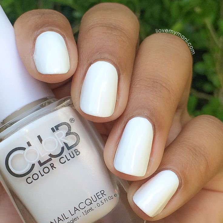 Color Club's French Tip, the perfect white nail polish!