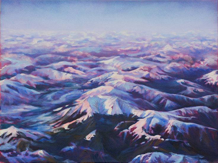 Arthouse Gallery / Stockroom / Carla Hananiah / Floats among cloud tops