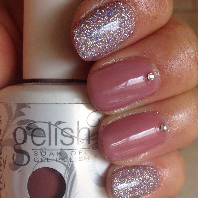 Gelish Nude Pink Shes My Beauty Nails Gellish Nails