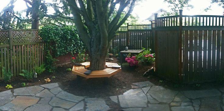 Wrap Around Tree Bench Tuin Pinterest