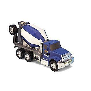 17 best images about toys games play vehicles on for Tonka mighty motorized cement mixer