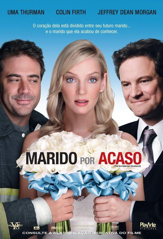 Marido Por Acaso - comédia romântica na qual a personagem ao tentar casar com o seu atual namorada, descobre estar casar com um bombeiro por engano.