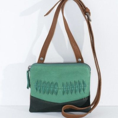 Nancybird Pocket Bag Grass Green - Inside Home & Gifts