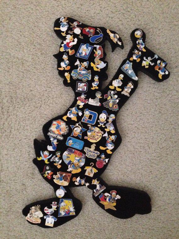 Donald Duck Disney pin display!