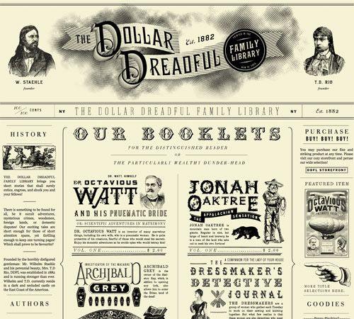 Retro and Vintage Web Design – Best of