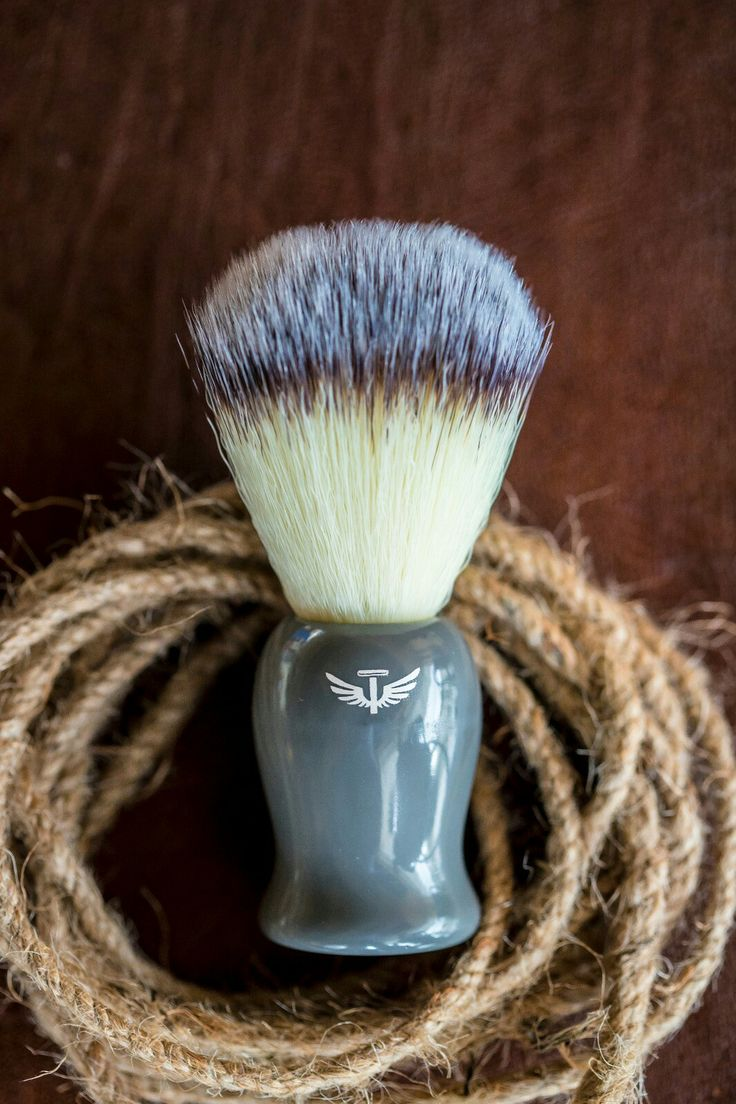 Bombay Shaving Co. Shaving brush with rustic rope.