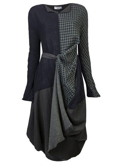 IVAN GRUNDAHL Quilted Dress