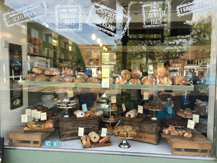 Image result for bakery christmas window displays