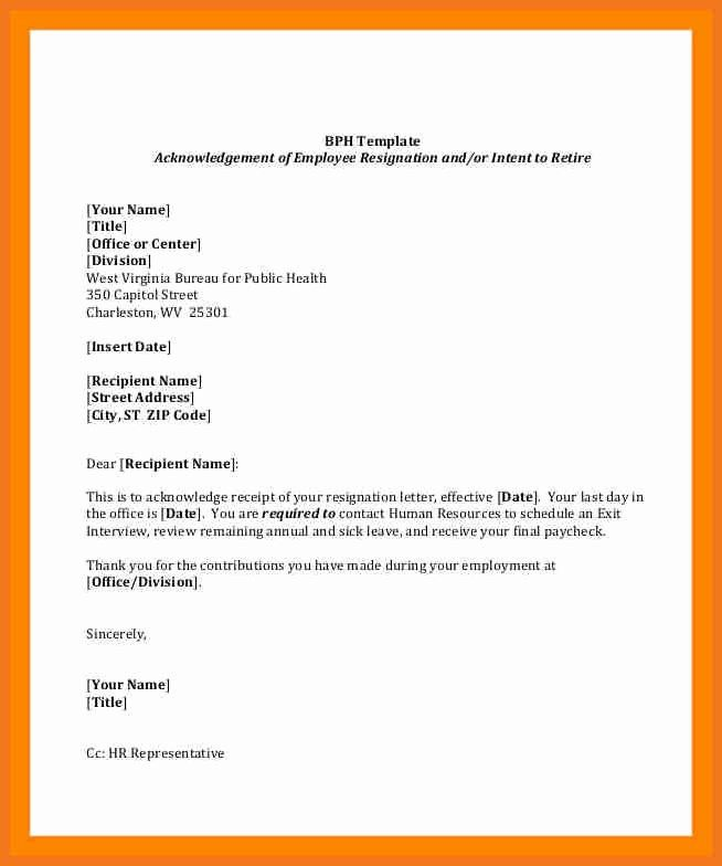 Retirement Resignation Letter Template Inspirational 4 5 Employment Resignation L Professional Cover Letter Template Resignation Letter Letter Writing Template