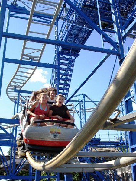 how to find the velocity of a roller coaster