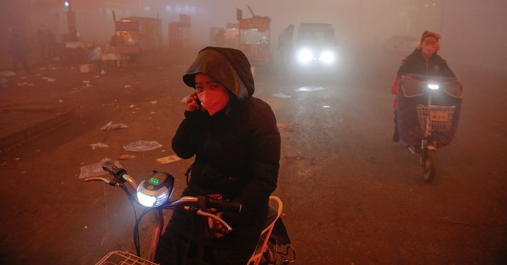 Climate Change May Be Intensifying China's Smog Crisis  Changing weather patterns linked to rising global temperatures have resulted in a dearth of wind across northern China, exacerbating severe air pollution, studies say.