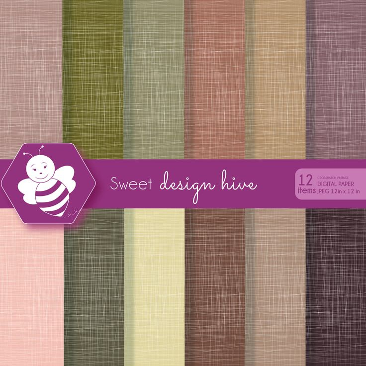 Crosshatch digital paper, Vintage Colors, commercial use, scrapbook papers, background, digital paper set, DP4061 by Sweetdesignhive on Etsy