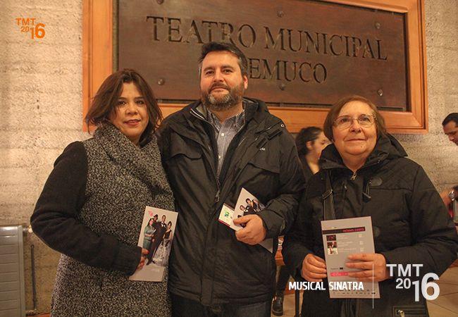 público TMT2016, Sinatra musical, Teatro Municipal Temuco