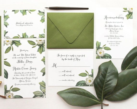 Afdrukbare bruiloft uitnodiging Vintage door CharleyPaperCompany