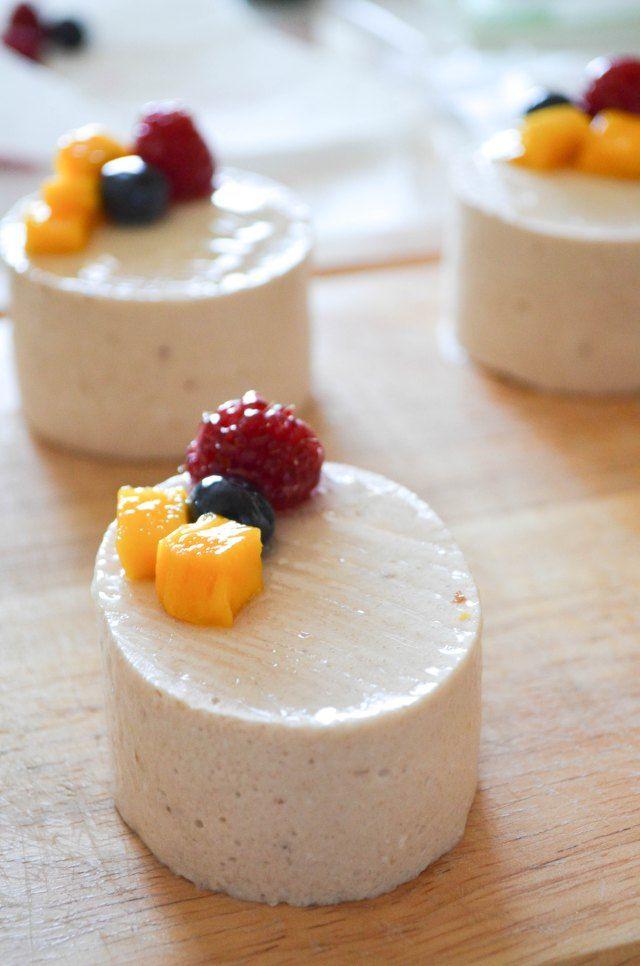 Hidemi Sugino's Exotique- Banana mousse & Mango cake