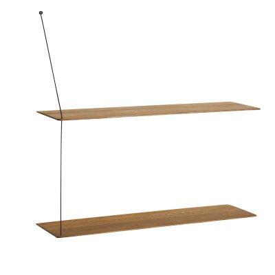 Stedge hylly merkiltä Woud, suunnittelija Leonard Aldenhoff.  Design huokuu tyylikästä skandinaavist...