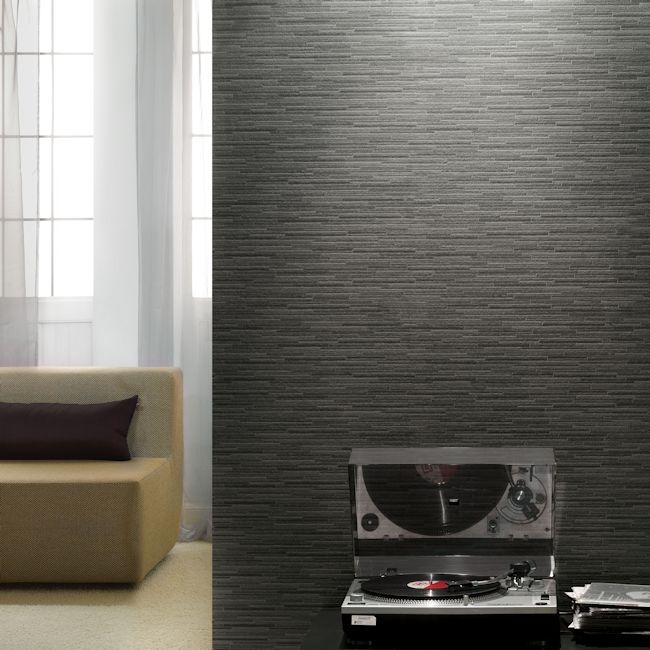 Murano –  A great slate/stone look wallpaper, love the texture