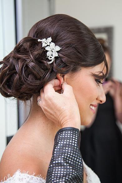 Coiffure libanaise pour mariage 2013