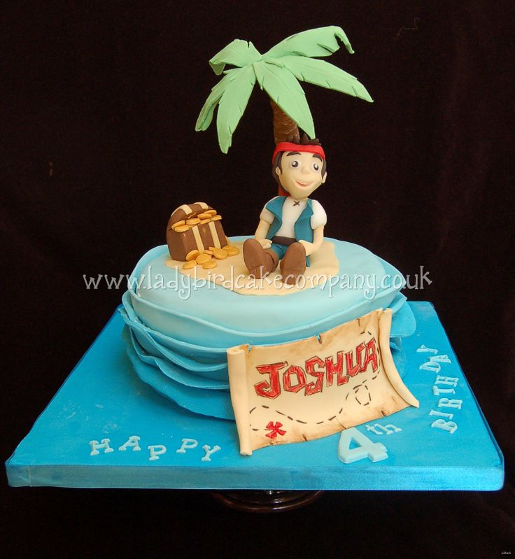 how to make a jake and the neverland pirates cake