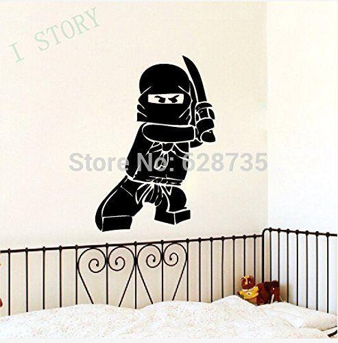 autocollant de vinyle lego ninjago autocollant pour enfants garon le dcor des chambres une salle
