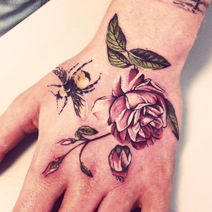 25+ Best Vintage Rose Tattoos Ideas On Pinterest