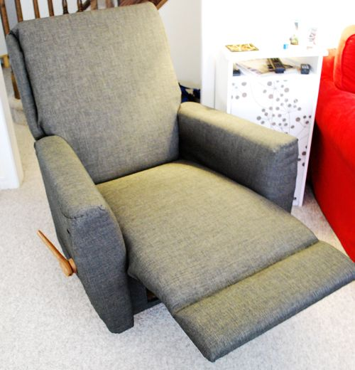DIY recliner makeover & 42 best DIY Reupholster images on Pinterest   Furniture projects ... islam-shia.org