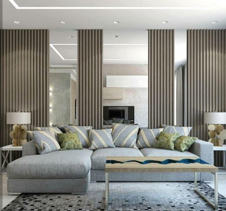 بديل خشب ديكور حائط بديل الخشب مرايا مع ديكور شرائح خشب للجدران لتواصل الرياض 0535711713 Hotel Room Interior Pallet Furniture Interior Design