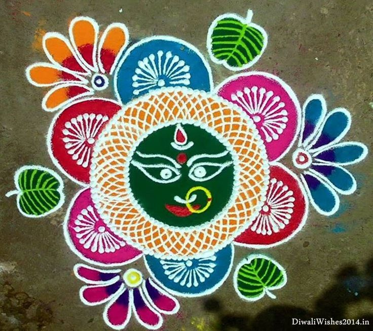 make beautiful rangoli designs on happy dussehra latest