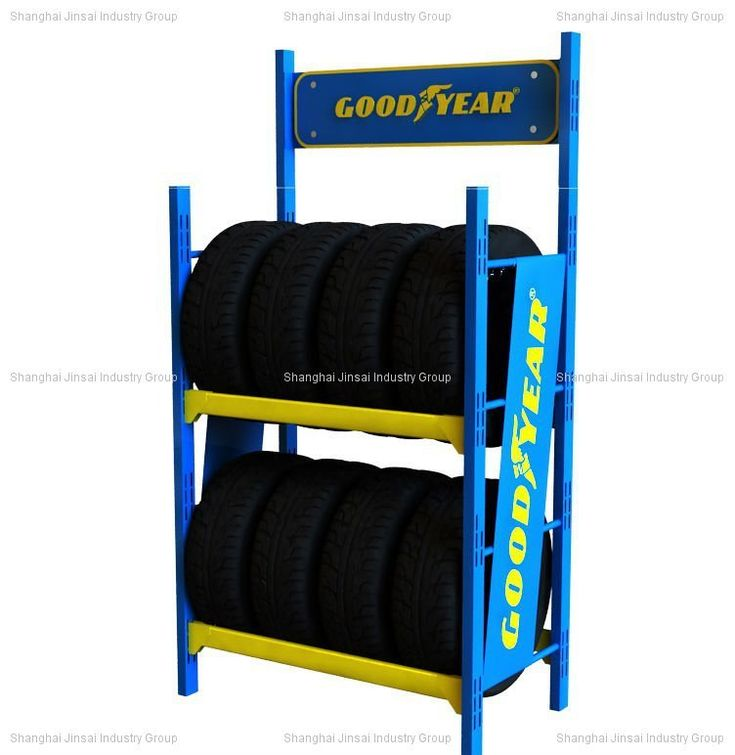 tire display | Tire Rack Display (goodyear ) - Buy Tire Rack,Metal Tyre Rack Display ...