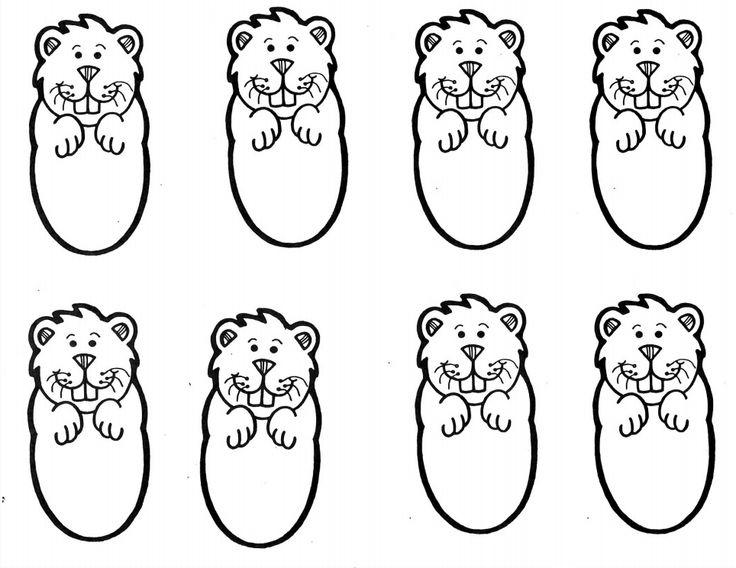 Groundhog Template.pdf Groundhog Day Pinterest