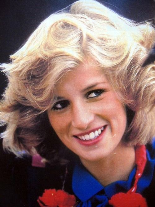 Princess Diana, 1984. I usually can't see William in her, but you can't miss him here.