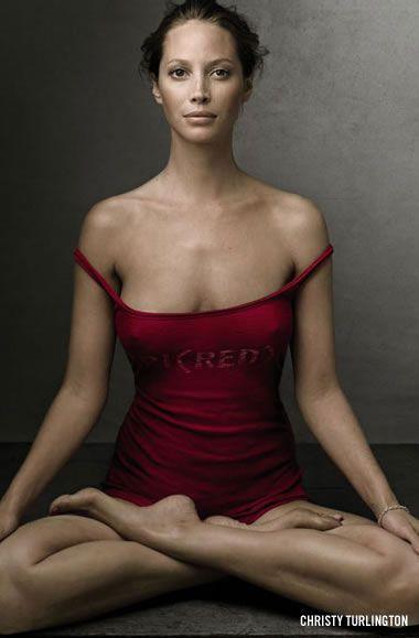 yogaFit, Hot Yoga, Christy Turlington, Christyturlington, Beautiful, Yoga Poses, Inner Peace, Annie Leibovitz, Yoga Lifestyle