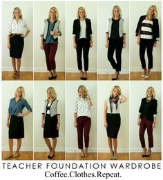 Coffee.Clothes.Repeat: Teacher Foundation Wardrobe: Day 10