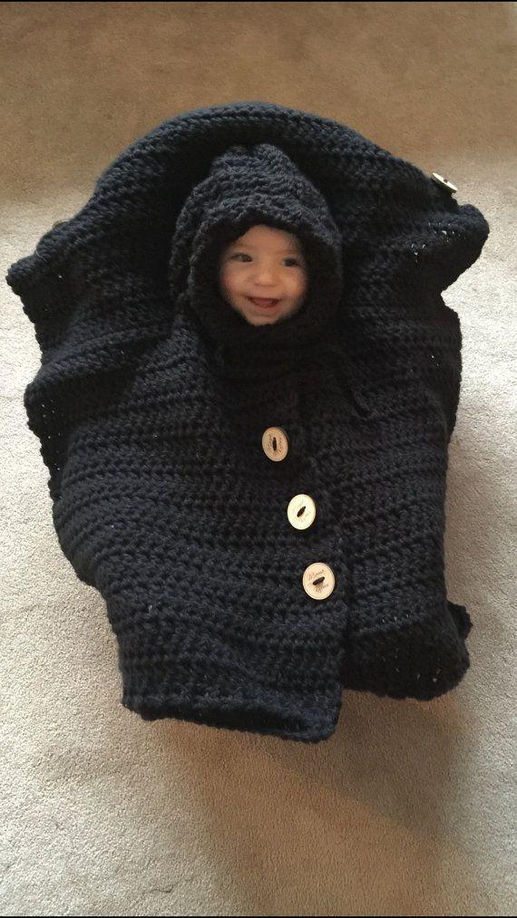 Free Crochet Car Seat Poncho Pattern Carsjp