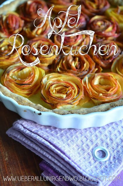 Überall & Nirgendwo: Apfel-Rosenkuchen……denn Herbst ist Apfelkuchen und Apfelkuchen ist Herbst!