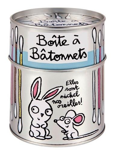 keladeco.com - Boite à coton tiges lapin nos oreilles, idée deco originale maison, boite valérie nylin - Derrière la porte, #boite DLP,