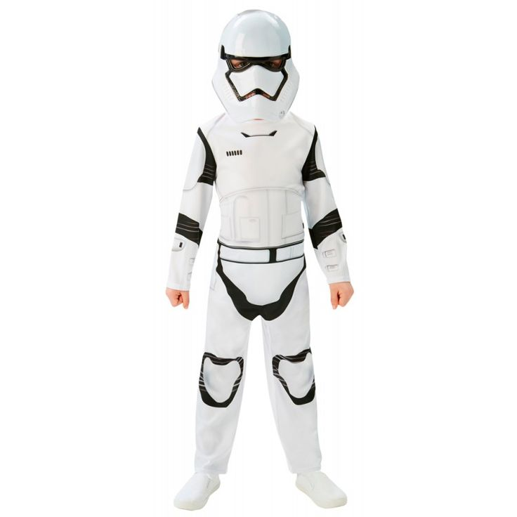 Star Wars The Force Awakens Storm Trooper Kostuum Kindermaat.