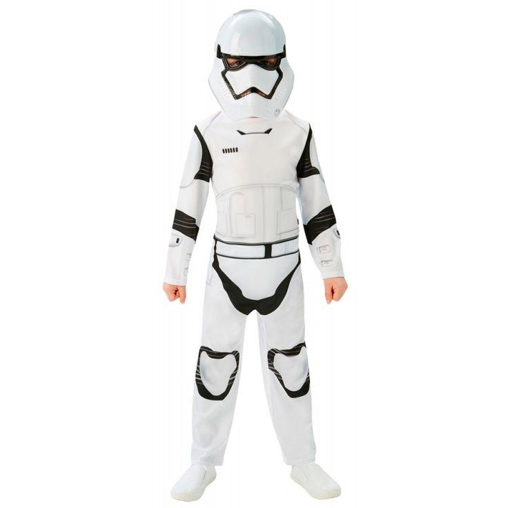 Star Wars The Force Awakens Storm Trooper Kostuum Kindermaat.