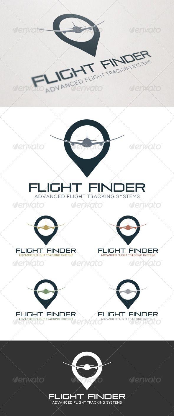 Flight Finder  - Logo Design Template Vector #logotype Download it here: http://graphicriver.net/item/flight-finder-logo/5190411?s_rank=1426?ref=nesto