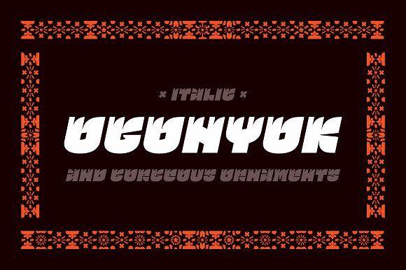 Ogonyok italic by Russian Fonts on @creativemarket