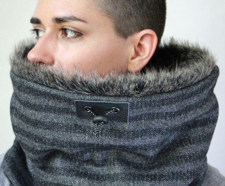 Faux fur scarf,  fur cowl, hooded fur cowl, Snock®, fur snood de jaffic en Etsy https://www.etsy.com/es/listing/79510060/faux-fur-scarf-fur-cowl-hooded-fur-cowl