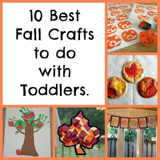 fall crafts for toddlers : Diapers & Daisies