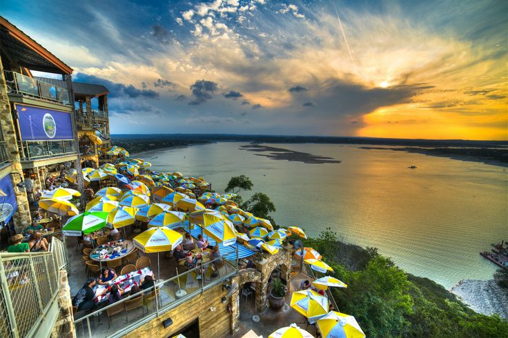 The Oasis Restaurant-Lake Travis-Austin, Texas Great Sunset Views-Mexican Food