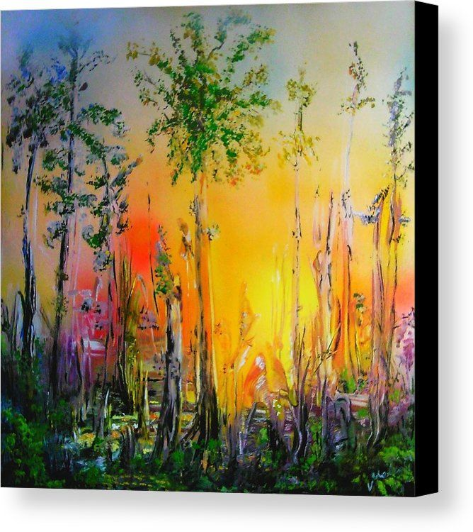 Forest Of Souls Canvas Print Canvas Art By Nandor Molnar Painting Forest Canvas Prints Acrylic Prints