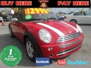 2008 MINI Cooper Convertible Coral Group Miami used cars for sale your bad credit dealer in Miami, Florida 33142 Buy here pay here