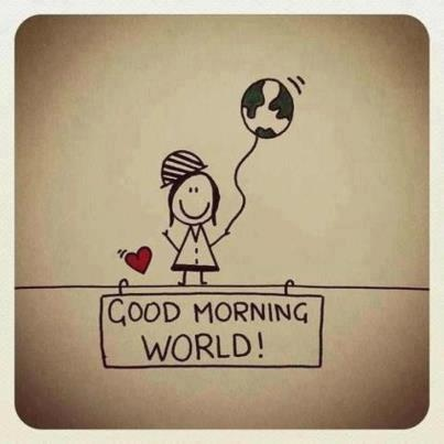 ♥ Good morning world!...:)