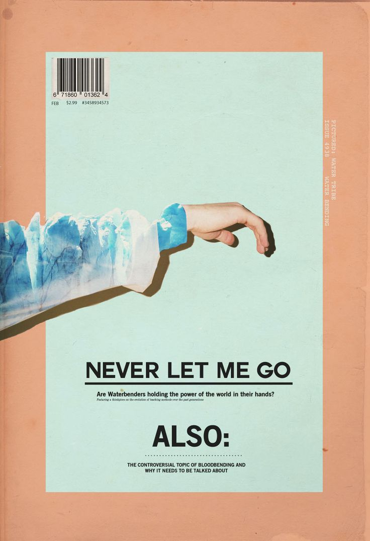 Poster design near me - Never Let Me Go More