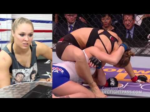 Los Angeles Times: Ronda Rousey breaks down her fight with Cat Zingano